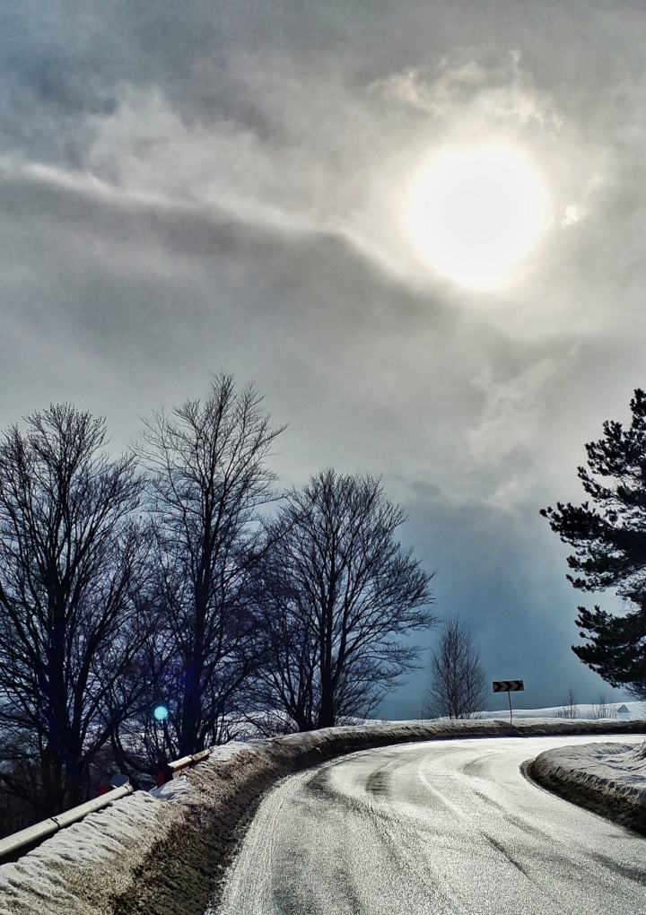 Tablouri de iarna la 1400m altitudine