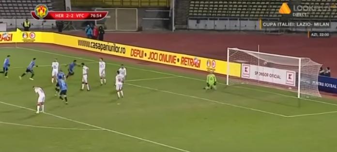 Un penalty gratuit o scoate pe FC Hermannstadt din Cupa României