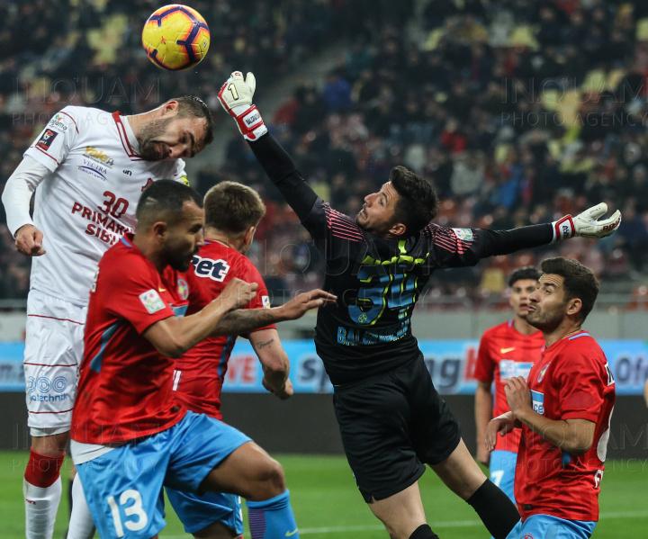 FC Hermannstadt pierde la un scor nemeritat în deplasare cu FCSB