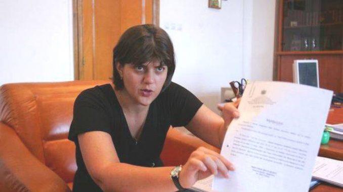 Laura Codruta Kovesi a primit o scrisoare de amenințare înainte de audierea în Parlamentul European