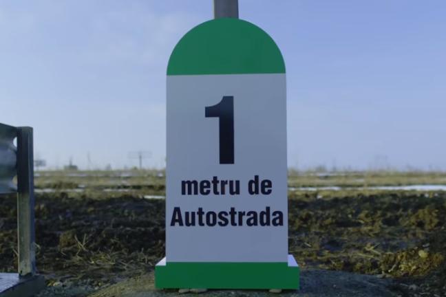 Primul metru de autostradă din Moldova, construit în semn de protest, a costat 4500 euro