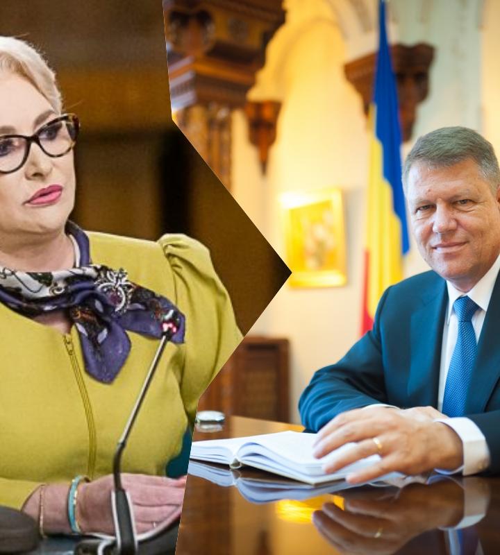Premierul României îi arată obrazul Președintelui
