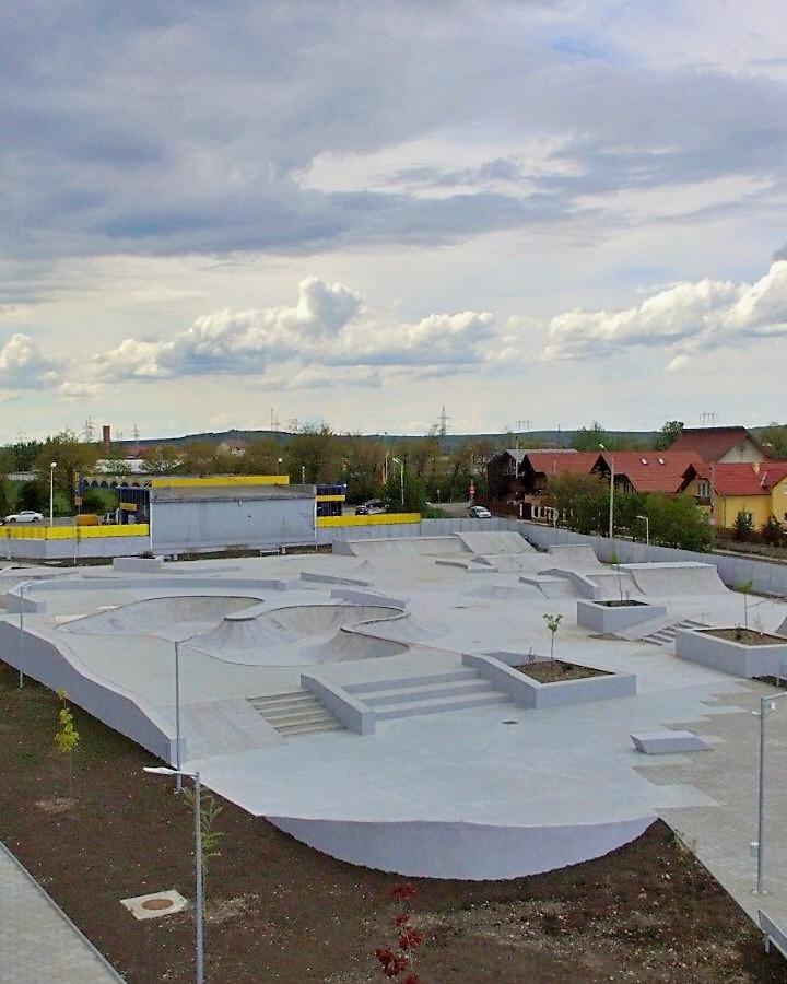 Cel mai mare Skate Park din România își deschide porțile vineri la Sibiu