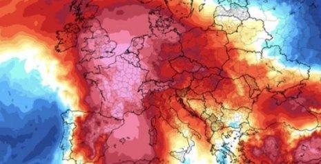 Premieră meteo în Europa. Cod violet de caniculă!