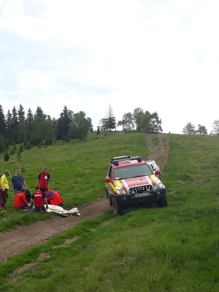 Un turist german decedat pe un traseu din Vârful Măgura