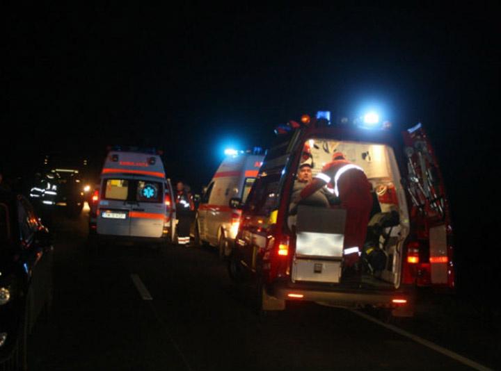 Accident cu 3 Tir-uri implicate la ieșirea din Avrig