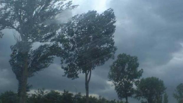 Cod Portocaliu de furtuni și grindină în  județul Sibiu. Recomadări ISU
