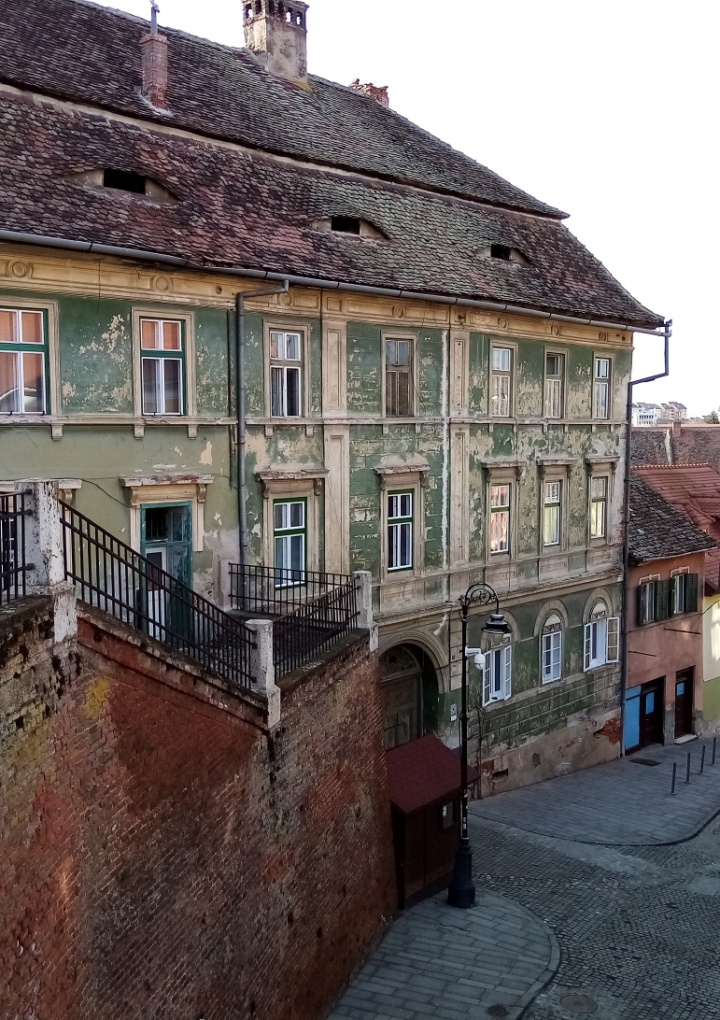 O plimbare prin zona centrala a Sibiului in 2021