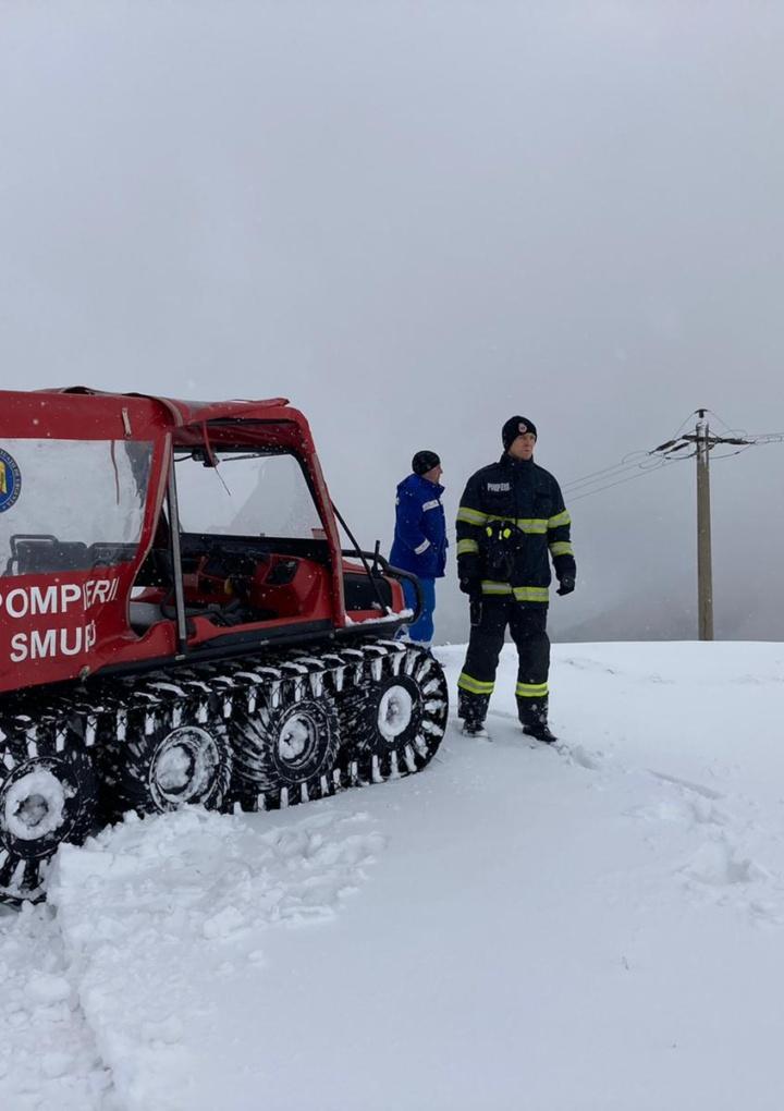 Actiune comuna ISU Sibiu si Electrica